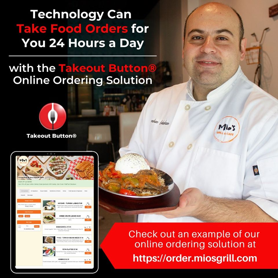 Mios uses Online Ordering to take orders